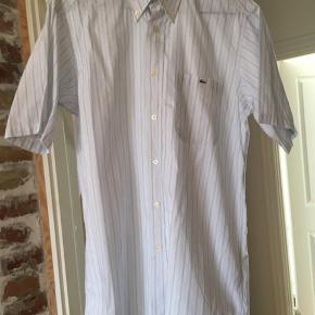 Vintage Lacoste Kortærmet skjorte Str. 38