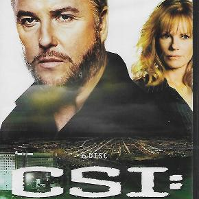 9497 - Csi : crime scene investigation The complete eight season (DVD)  Dansk Tekst - I FOLIE