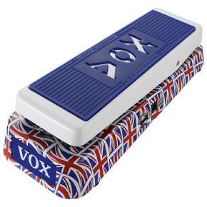 VOX V847 Wah-Wah pedal med et unik Union Jack finish