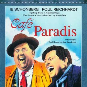 0171 - Café Paradis (DVD)  Dansk Film - I FOLIE    Café Paradis:  Da Carlo Jensen vender tilbage fra alkoholafvænning, får han sit gamle job i skotøjsfirmaet Brikta tilbage af Christian Birger. Birger har længe arbejdet hårdt i firmaet og håber på at blive direktør. Imidlertid har han også længe drukket for meget, og ved et afgørende bestyrelsesmøde holder han en udiplomatisk tale. To dage senere bliver han fyret og begynder sin sociale og menneskelige nedtur. Carlo mister også sit job og får et tilbagefald.