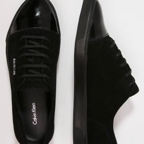 Fede sko fra Calvin Klein men en Lak-lignende spids. Brugt få gange, og sælges udelukkende pga fattigdom. Nypris er 999 ved Zalando  Gratis forsendelse i dag d 31/8