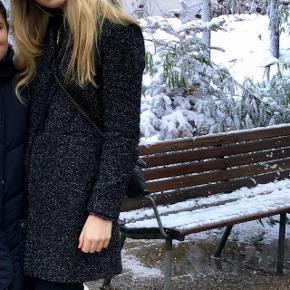 ZARA frakke / grå / sort