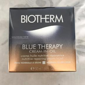 Biotherm Blue Therapy Cream-In-Oil Normal/Dry Skin 50 ml  Ny prisen 520,- Ubrudt emballage