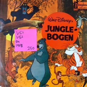 vinyl lp plade til børn børnelp musik til børn God stand Disney Junglebogen