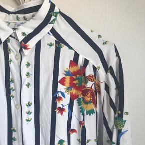 Vintageskjorte med print.