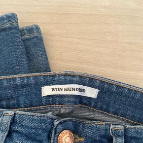 Lækre won hundred jeans. Sælges udelukkende fordi jeg ikke kan passe dem. BYD