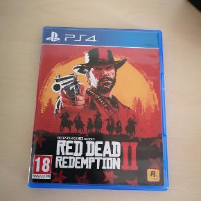 Red dead redemption 2 Sælges. Fejler intet. Spillet få gange.