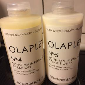 OLAPLEX 4&5 shampoo og balsam 2x250 ml ny plomberet