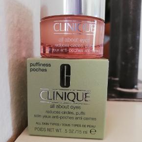 Clinique all about eyes 15 ml. Nypris 295 kr. Aldrig brugt eller åbnet.