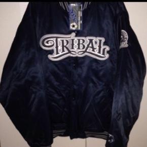 Tribal streetsear jakke,supreme very rare 90s,Size:L  Satin Ubrugt