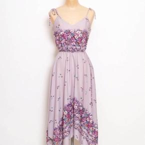 Japansk 70'er kjole Str. 36-38 Elastik i taljen I god stand