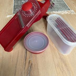 Kitchen aid mandolinjern: Kun brukt få ganger, ingen tegn på slid