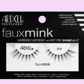Ardell Faux Mink 814 øjenvipper Knot-free invisiband lashes