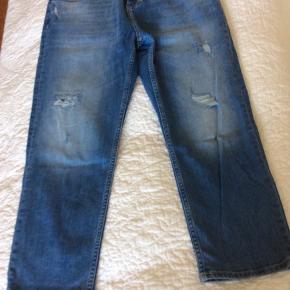 3/4 lange denim bukser fra RVLT