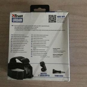 Head Strap til action camera, mrk. Trust URBAN Helt ny, aldrig pakket ud Pris eksl. porto