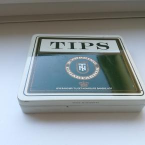 Gammelt cigar-etui fra N. Tørring Cigarfabrik.