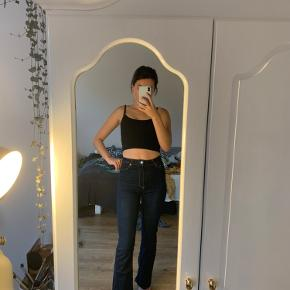 Fine bootcut jeans fra zara, high waisted