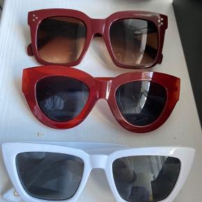 Forskellige solbriller fra hhv. Mango og Pull & Bear  Byd