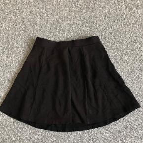 Sød sommer A-nederdel i bomuldsjersey