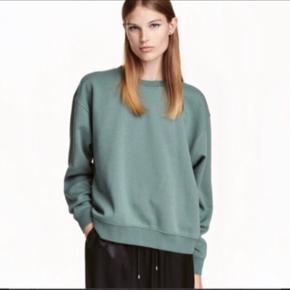 Super fin sweatshirt fra h&m trend. Brugt få gange og fremstår derfor i rigtig fin stand. Str. Xs. Bytter ikke