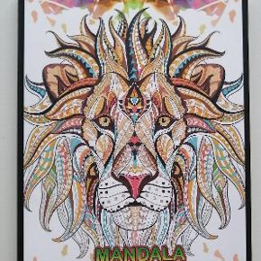 Helt ny mandala malebog til voksne.