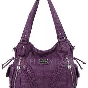 SØGER  jeg søger denne her taske eller en lign. Er der nogle der kan hjælpe? Jeg har budget til ca. 400-500 kr. Jeg vil gerne have mange lommer i min taske ;-) Det skal helst være læder eller læder look.  På forhånd tak for hjælpen