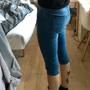 Virkeligt bløde 3/4 jeans fra ONLY.
