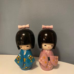 Små japanske figurer købt i Hay