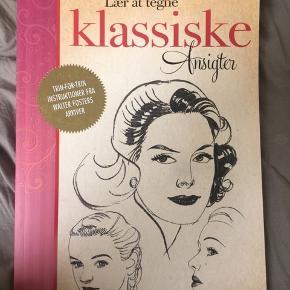 'Lær at tegne klassiske ansigter' Købt for et par år siden, men aldrig brugt. Et par ridser på coveret, men indeni dufter den stadig af ny bog.  Skriv evt for flere billeder eller andre spørgsmål!  Befinder sig i Roskilde.