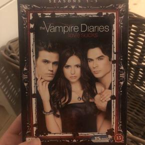 The vampire diaries sæson 1-3