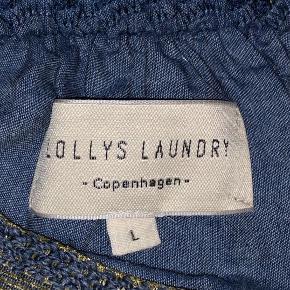 Sælger denne fine nederdel fra Lollys laundry, da jeg ikke får den brugt. I mærket på nederdelen står der str. L, men det er en str. xs🦋