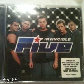 Brand: Five - Invincible Varetype: CD Størrelse: - Farve: -  Sender gerne på købers regning :)