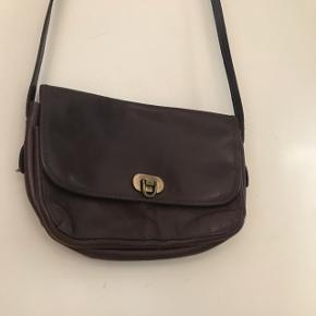 Vintage taske i brun