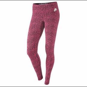 Pinke leoprintede leggins fra Nike!