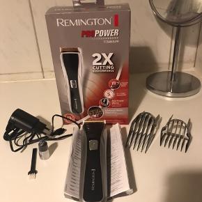 Remington hårtrimmer.  0-44mm  Nypris 449kr  Sender gerne med dao(45kr)