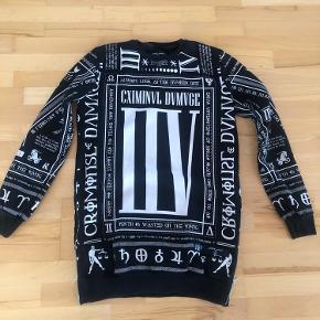 Criminal Damage sweater
