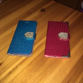 2 stk cover til iPhone 6/6s. Aldrig brugt og er derfor helt nye😊. Det ene er kun prøvet på! Tænker 30 kr stk, eller 50 kr samlet.