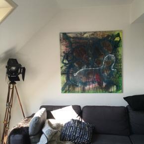 Maleri  1 x 1 meter