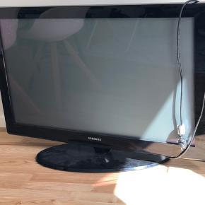 42 tommer Samsung fjernsyn. Pæn stand. Fungerer som det skal.  Fjernbetjening medfølger.
