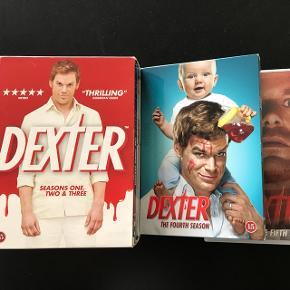 Alle sæsoner af Dexter 1-6God serie. Sælges billigt