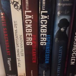 Fejler intet 20kr stk eller 30kr samlet Bøgerne der sælges; isprinssen og prædikanten af Camilla Läckberg