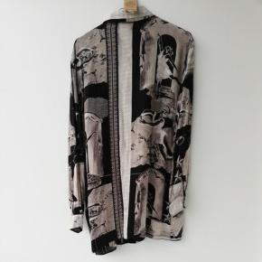 Vintage skjorte m print str s/m