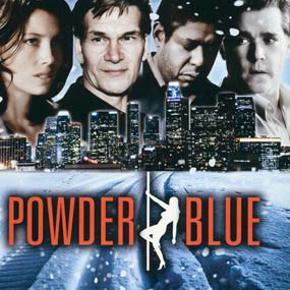 """Dvd film """" Powder Blue """"  Mindstepris : 25 kr plus porto Porto er 37 kr. med DAO uden omdeling  MÆNGDERABAT VED KØB FRA FLERE KAN DEN KØBES MED FOR 22 KR PLUS EVT MER PORTO  TAG 5 DVD FILM FOR 110 KR PLUS PORTO  DER KAN VÆRE OP TIL 5 DVD FILM I PORTOEN TIL 37 KR MED DAO UDEN OMDELING  Bytter Ikke"""