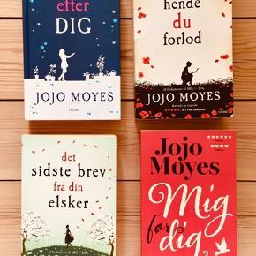 Jojo Moyes bøger sælges. Samlet pris 200 kr.