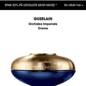 Helt ny uåbnet, Guerlain Orchidee Imperiale Creme 50 ml Ny pris: 3280 Øjencremen haves også, mængde rabat ved køb af begge