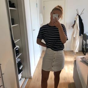 Super fin, denim nederdel