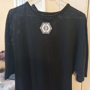 Unisex, oversize, gennemsigtig tshirt