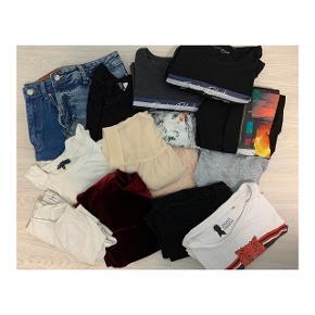 Samlet tøjpakke, alt er i størrelse xs.  Alt sælges samlet til 150kr