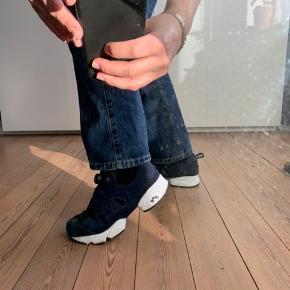 Fede Reebok sneakers med sej pumpe/stramme-funktion.