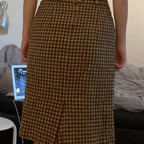Vintage uld nederdel